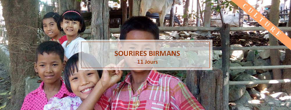 sourires enfants birmans