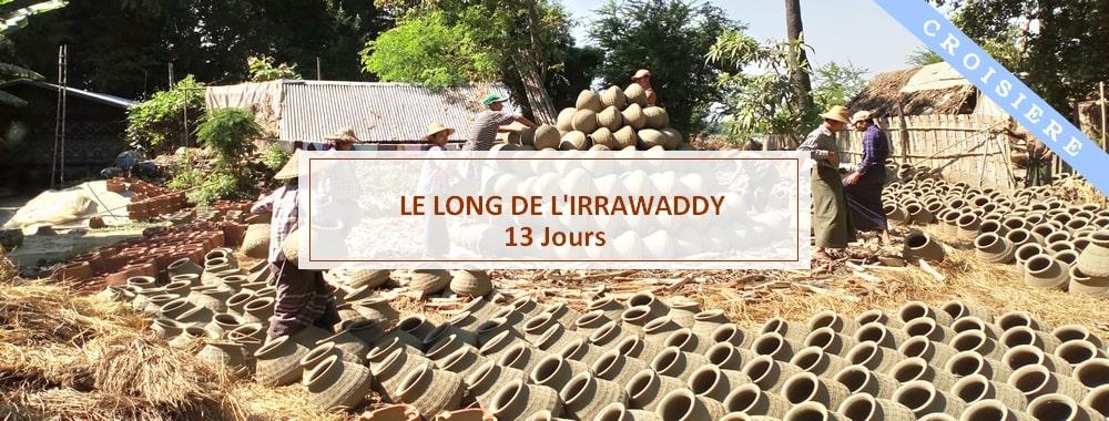 poterie dans le village de Yandabo